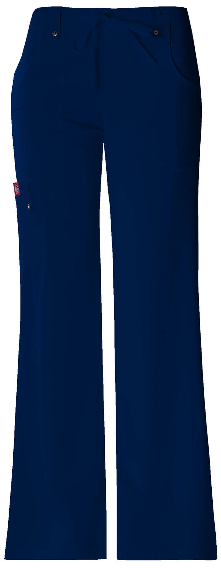 Dickies Women's Xtreme Stretch Tall Drawstring Scrub Pant - XL - Navy