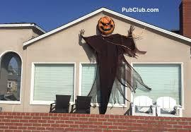 Pumpkin Head 2017 by Hermosa Beach Houses Displaying Top Halloween Decorations