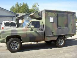 100 Chevy Military Trucks For Sale SOLD 84 CUCV M1010 4x4 Ambulance Expedition