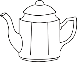 Coffee Clipart Kettle Free Pot Iyo Graphic Stock
