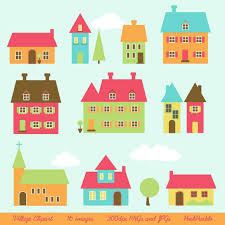 Projects Simple Cute Home Clipart House Skillshare Coloring Page Clip Art Sweet