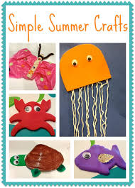 Easy Summer Kids Crafts