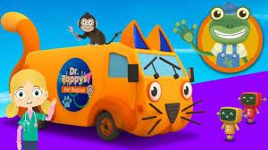 Andy The Animal Ambulance Visits Gecko's Garage   Trucks For Kids ...