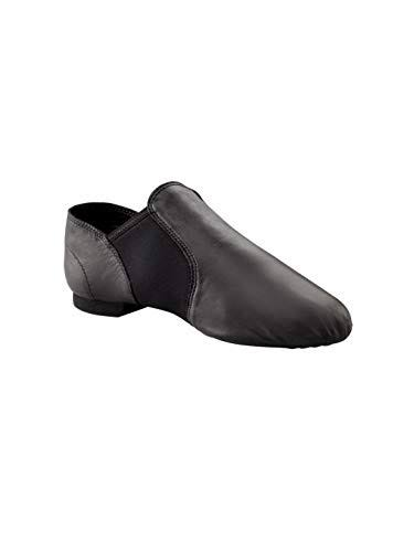 Capezio Womens EJ2 E-Series Jazz Slip-On Shoe - Black, 12 US