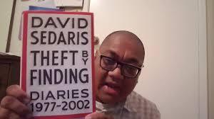 Booktube Vlog 12 David Sedaris Theft By Finding Diaries 1977 2002 Reviewed
