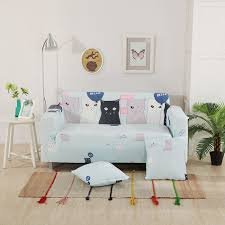 Black Sofa Covers Cheap by Online Get Cheap Sofa Cover Blue Aliexpress Com Alibaba Group