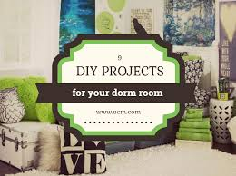 9 DIY Dorm Decorating Crafts
