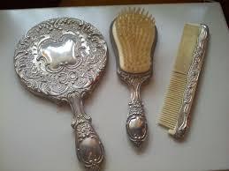 Celluloid Vanity Dresser Set brush comb u0026 mirror dresser set google search vanity dresser