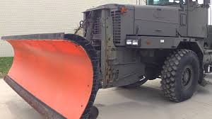100 Plow Trucks For Sale Military Snow For Sale YouTube