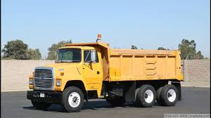 1992 Ford L8000 16 Yard Tandem Dump Truck - YouTube