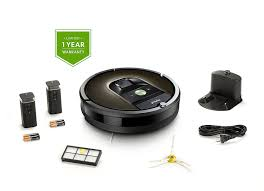 Roomba For Hardwood Floors by Irobot Roomba 980 Wi Fi Connected Robot Vacuum For All Floor Types