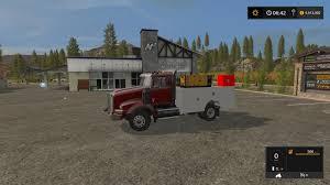 KW SERVICE TRUCK V1 LS17 - Farming Simulator 2017 / 17 LS Mod