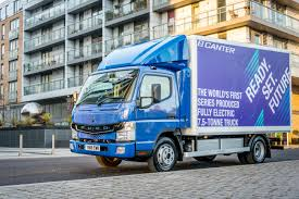 100 Fuso Truck ECanter Electric Truck Test Drive S