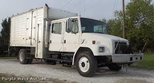 100 Crew Cab Box Truck 1999 Freightliner FL70 Box Truck Item DC7312 SO