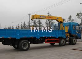 Safety XCMG Telescopic Boom Truck Mounted Crane With CE Certification