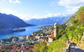 Montenegro City Houses Bay River Mountains Wallpaper For PCTablet And Mobile Download
