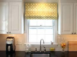 Kitchen Drapery Ideas Modern Window Dressings Whaciendobuenasmigas