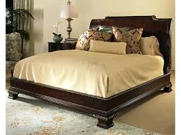 Bed Frames Sears by Wooden King Size Bed Frame U2013 Bare Look