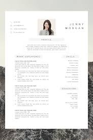Simple CV Template Word - Resume With Photo Template ... Free Word Resume Templates Microsoft Cv Free Creative Resume Mplate Download Verypageco 50 Best Of 2019 Mplates For Creative Premim Cover Letter Printable Template Editable Cv Download Examples Professional With Icons 3 Page 15 Touchs Word Graphic