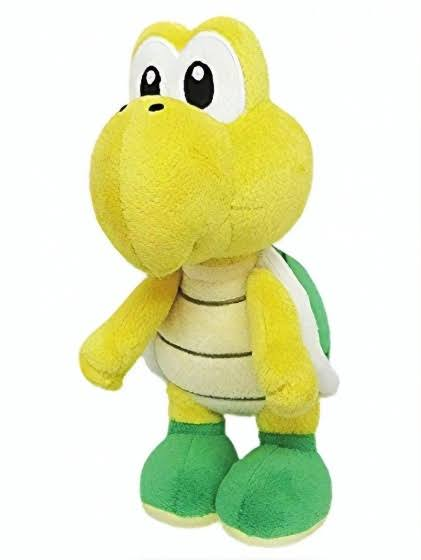 Little Buddy LLC Super Mario All Star Collection Plush - Koopa Troopa, 8""