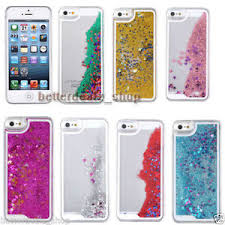 Glitter Stars Bling Liquid Quicksand Dynamic Clear Case Cover for