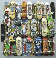 10pcs random fingerboard tech decks 96mm mini skateboard original