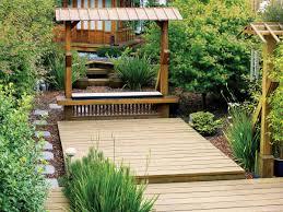 100 Backyard Tea House Sunset Readers Gardens Sunset Magazine