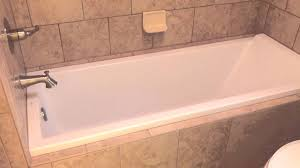 54 X 27 Bathtub With Surround by Beautiful European Drop In Tub With Italian Tile Surround Youtube