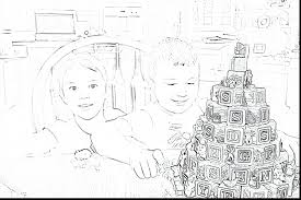 Gingerbread House Invitations Free Printable Big Template Unbelievable Tomorrow Day Year Personal Prayer Coloring Page Sheets