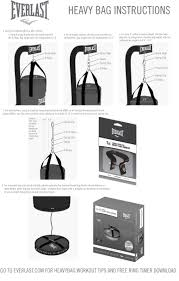Boxing Heavy Bag Ceiling Mount by Heavy Bag Hanger Instructions Gym Pinterest Gym And Workout