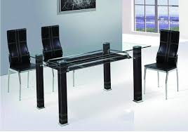 BARCELONA Glass Dining Table