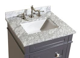Wayfair Bathroom Vanity 24 by Kitchen Bath Collection Kbc L24gycarr Eleanor Bathroom Vanity With