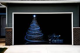 Decorative Doorbell Chime Covers by Christmas Tree Garage Door Covers 3d Banners Outside Art House