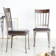 100 Birch Dining Chairs Shop Keyaki Antique Bronze Finish Accent Set Of