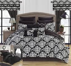Macys Bed In A Bag by Amazon Com Chic Home Hailee 24 Piece Comforter Set Complete Bed
