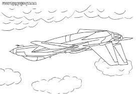 Us Army Plane Coloring Page