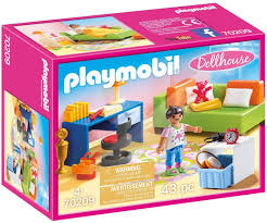 playmobil dollhouse 70209 jugendzimer ab 4 jahren