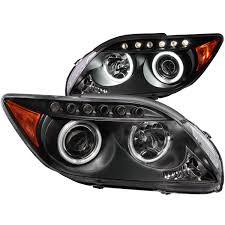 Halo Bed Rail by Anzo Usa Scion Tc 05 10 Projector Headlights Black W Halo Ccfl