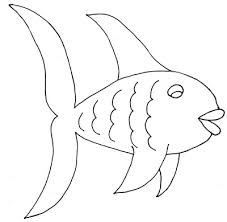 Slippery Fish Coloring Pages