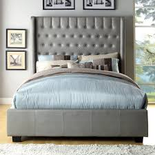 Furniture of America Carmella Wingback Low profile Bed Free