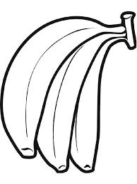 Banana Fruits Coloring Pages 11