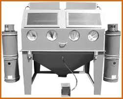 trinco master model mm6048 split level suction blast cabinet