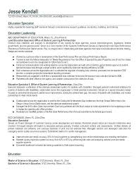 Teacher Resume Examples Daycare New Magnificent Special Education Early Childhood