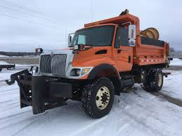 100 Truck With Snow Plow For Sale International 7400 S Spreader S In