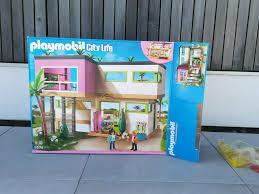 playmobil luxusvilla mit luxus wohnzimmer und küche