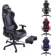 Racing Chair High Back Gaming Chair Ergonomic Recliner Office Desk Seat  Footrest · $99.99 Xtrempro G1 22052 Highback Gaming Chair Blackred Details About Ergonomic Racing Gaming Chair High Back Swivel Leather Footrest Office Desk Seat Design Computer Axe Series Blackred Check Out Techni Sport Racer Style Video Purple Shopyourway Topsky Pu Executive Merax 217lx 217w X524h Blue Amazoncom Mooseng New Lumbar Support And Headrest Akracing Masters Premium Highback Carbon Black Energy Pro