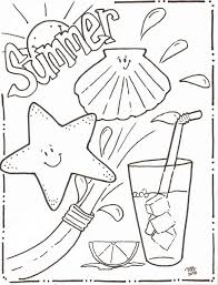 More Images Of Fun Summer Coloring Pages