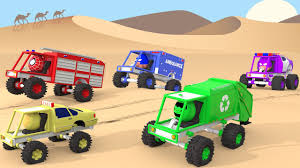 100 Trucks Cartoon Monster Truck Racing Cars Colors With Monster Truck Colors For