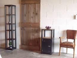 petit meuble d entrée bois métal au design industriel meuble de