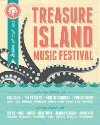 Treasure Island Music Festival Poster By Miranda On CreativeAllies
